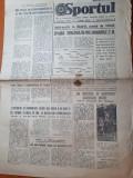 Sportul 26 octombrie 1977-meciul de fotbal spania romania