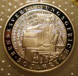 10.014 GERMANIA RFG CONSTITUTIE 50 ANI 10 DEUTSCHE MARK 2001 G PROOF ARGINT, Europa