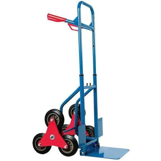 Carucior transport marfa pentru scari 114x48x62 cm, max 180kg