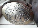 Pafta(catarama) Levis San Francisco-California si curea piele