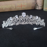 Diadema / tiara mireasa January Cubic Zirconia