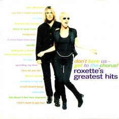 CD Roxette – Don't Bore Us - Get To The Chorus! (Roxette's Greatest Hits)