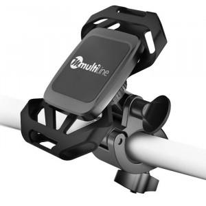 Suport Telefon Universal Magnetic pentru Bicicleta (Negru) MultiLine