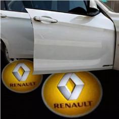 Proiectoare Portiere cu Logo Renault PREMIUM