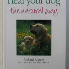 HEAL YOUR DOG - THE NATURAL WAY by RICHARD ALLPORT , 1997