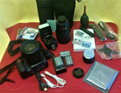 Pachet NIKON D700 cu obiective, etc. foto