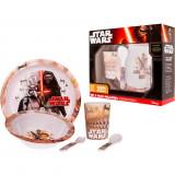 Cumpara ieftin Set pentru masa melamina 5 piese Star Wars Lulabi 8340300