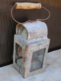 Cumpara ieftin FELINAR VECHI DIN TABLA GALVANIZATA - LAMPA PE PETROL