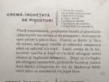 MODUL DE A SE SERVI DE MASINA DE INGHETATA, CCA 1910 / RETETE DE INGHETATE