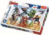 Puzzle clasic pentru copii - Avengers pregatiti pentru salvarea lumii 160 piese, Trefl