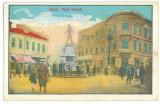 2478 -  GALATI, Royality  Market, Romania - old postcard - used - 1929, Circulata, Printata