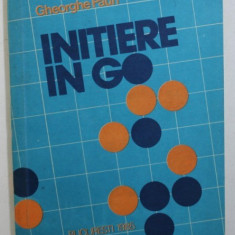 INITIERE IN GO de GHEORGHE PAUN , 1985