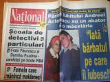 National 18 octombrie 2000-art a.antonescu,violeta beclea,v. iantu,corina danila