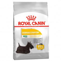 Cumpara ieftin Hrana uscata pentru caini Royal Canin CCN Mini Dermacomfort, 8 kg
