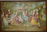tablou/pictura in ulei,baroc/rococo,vintage/antic/vechi,semnat, 1,3/1,9m
