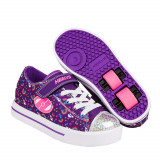 Heelys Snazzy Purple/Multi/Rainbow, 31 - 35