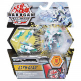 Figurina Bakugan S2 - Ultra Pegatrix cu echipament Baku-Gear Haos Lightning Striker