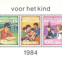 Antilele Olandeze 1984 - Youth Welfare, bloc neuzat