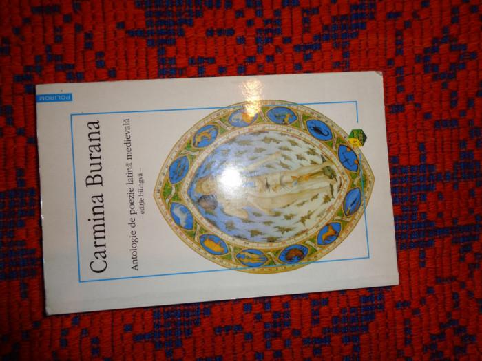 Carmina Burana - antologie de poezie latina medievala editie bilingva an1998