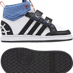 Pantofi sport copii ADIDAS HOOPS CMF MID INF - marime 25
