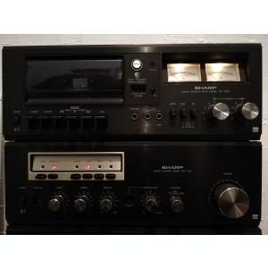 Linie Audio SHARP : Amplificator/Tuner/Deck - SM/ST/ RT 1122 - Impecabila/Japan