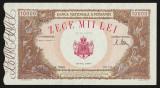Romania, 10000 lei 1946_pliu pe mijloc_seria U.2466-0079