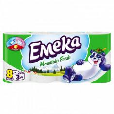 Emeka Mountain Fresh Hartie igienica 3 straturi 8 role