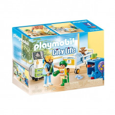 Playmobil City Life - Camera copiilor din spital
