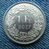 2m - 1 Franc 2017 Elvetia, Europa