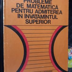 PROBLEME DE MATEMATICA PENTRU ADMITEREA IN  INVATAMANTUL SUPERIOR - RADU