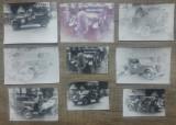Lot 9 fotografii masini de epoca de la un eveniment ACR// perioada comunista