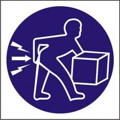 Indicator Ridicati corect(2) - Semn Protectia Muncii