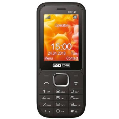 Telefon mobil MaxCom MM142 Dual SIM Black foto