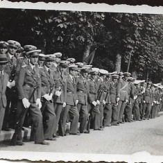 Fotografie militari romani aviatie Sinaia poza veche romaneasca interbelica