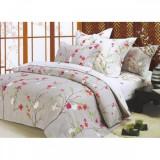 Cumpara ieftin Lenjerie de pat pentru 2 persoane, 4 piese, Spring