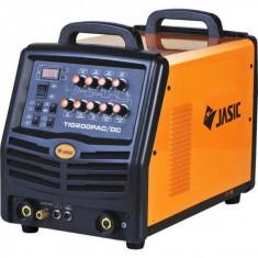 Aparat de sudura tip TIG AC/DC Analogic E101 Jasic TIG 200P Portocaliu