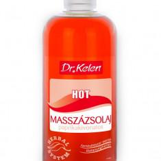 Ulei de masaj cu extract de Ardei Iute (PAPRIKA sau BOIA) - Dr.Kelen