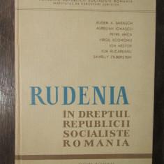 RUDENIA IN R.S.R.-E.BARASCH,A.IONASCU,P.ANCA
