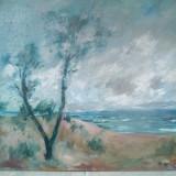 Peisaj in ulei semnat Verona, Peisaje, Impresionism
