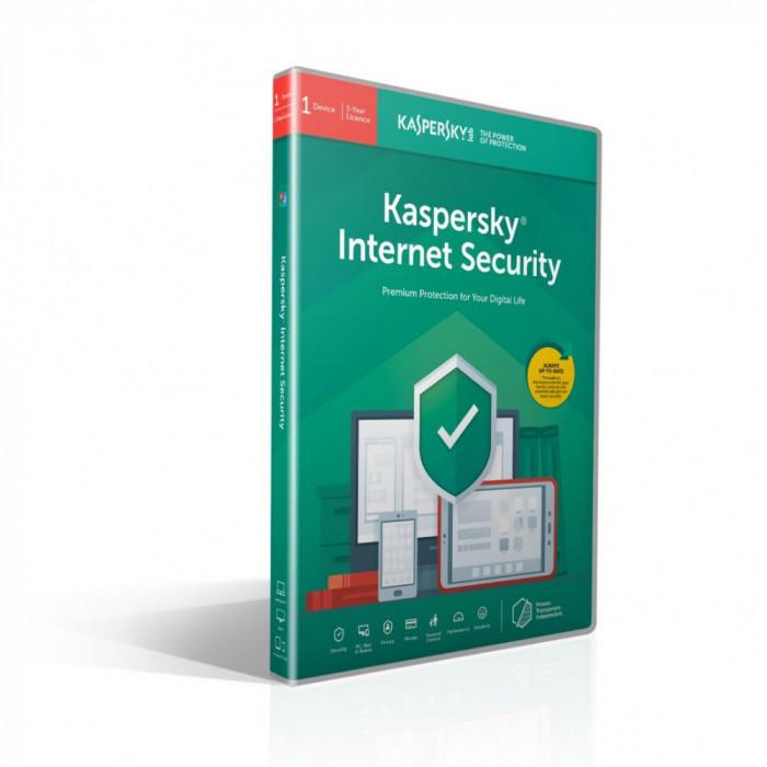 Licenta retail kaspersky internet security - anti-virus pentru pc mac