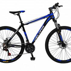 Bicicleta MTB HT 26 FIVE Moon cadru aluminiu culoare negru albastru