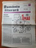 Romania literara 27 aprilie 1989-arti. charlie chaplin,1 mai sarbatoarea muncii