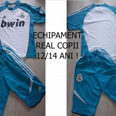 ECHIPAMENT REAL MADRID, COPII 12/14 ANI,NEINSCRIPTIONAT !MODEL NOU !