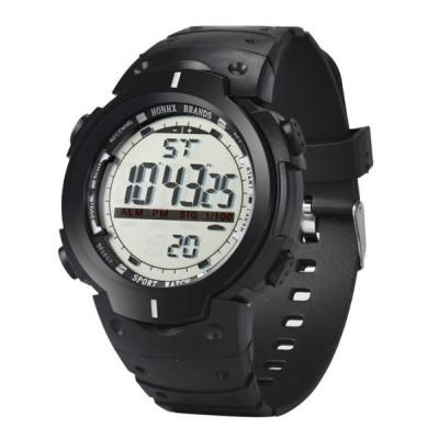 Ceas Barbatesc HONHX CS872, curea silicon, digital watch, functie cronometru, alarma foto