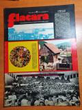 flacara 18 octombrie 1975-cenaclul flacara la cluj,art. siriu,cauciucul de gorj