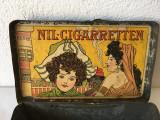 T- Cutie tigari veche vintage NIL-CIGARRETTEN 100 STUCK K.K. TABAK REGAL