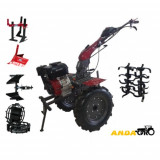 MOTOCULTOR Wm 1100D 9Hp+Roti Metalice+Rarita Reglabil+Plug Reversibil+Prasitoare