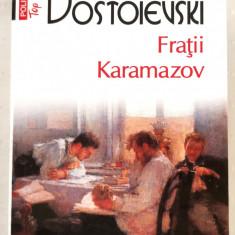 Feodor M. Dostoievski, FRATII KARAMAZOV