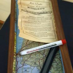 Harta Frantei si un meilograf foarte rar, anii 1960