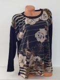 Bluza dama-Steilmann, 44, Negru & Imprimeu floral